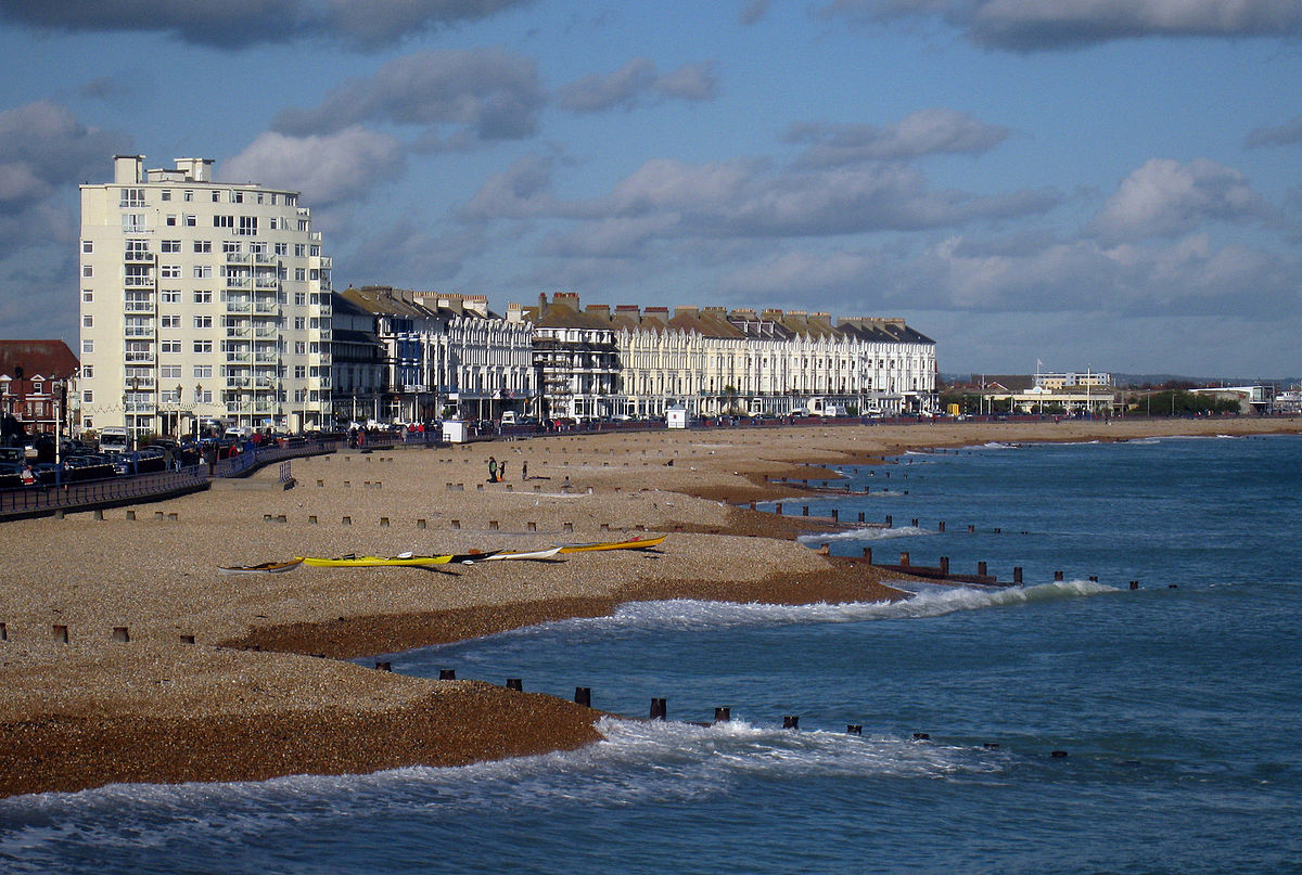 1200px Eastbourne Beach   geograph org uk   1582936