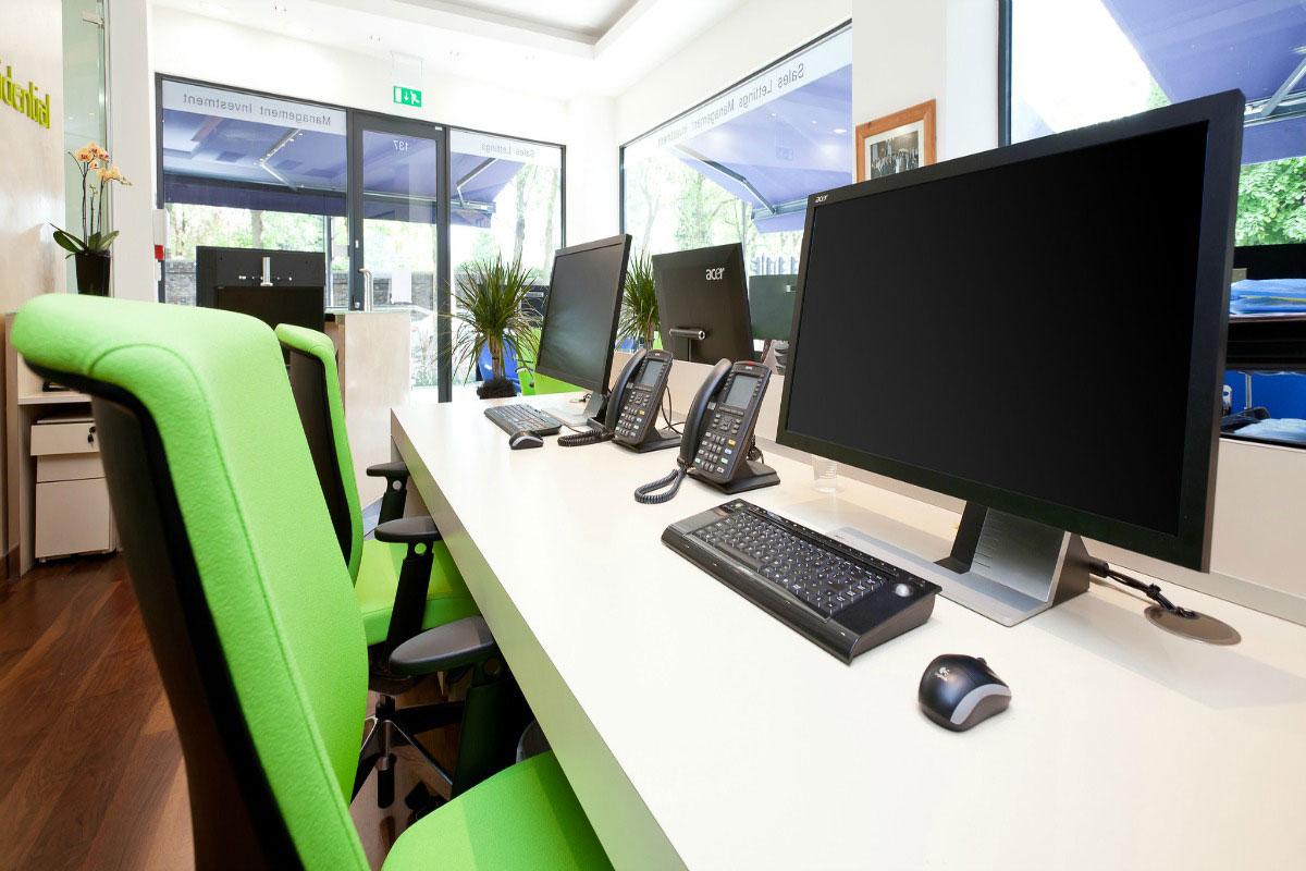 Dean Orgill hot desking office refurb