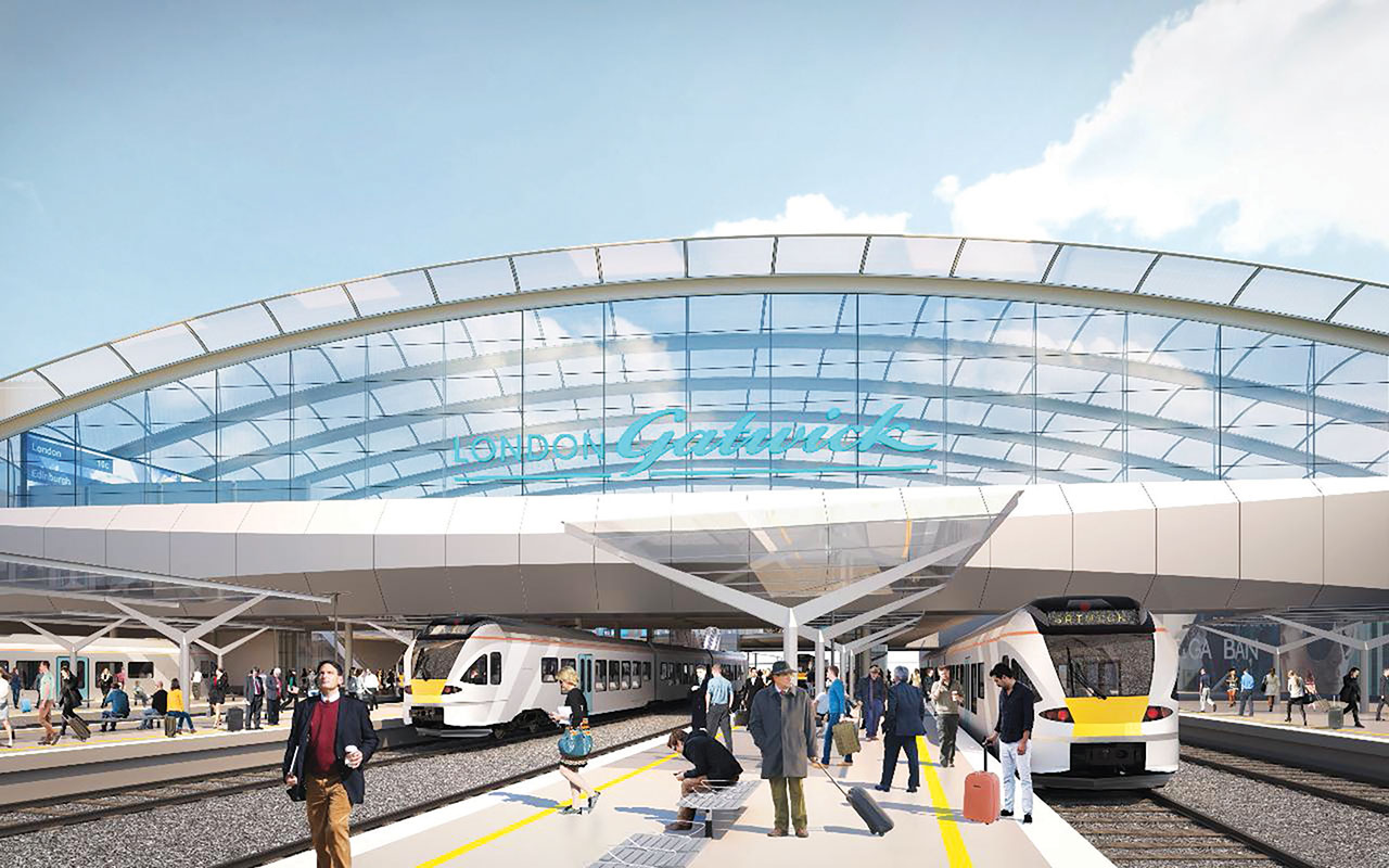 2 New image of how Gatwicks new station will look 290115