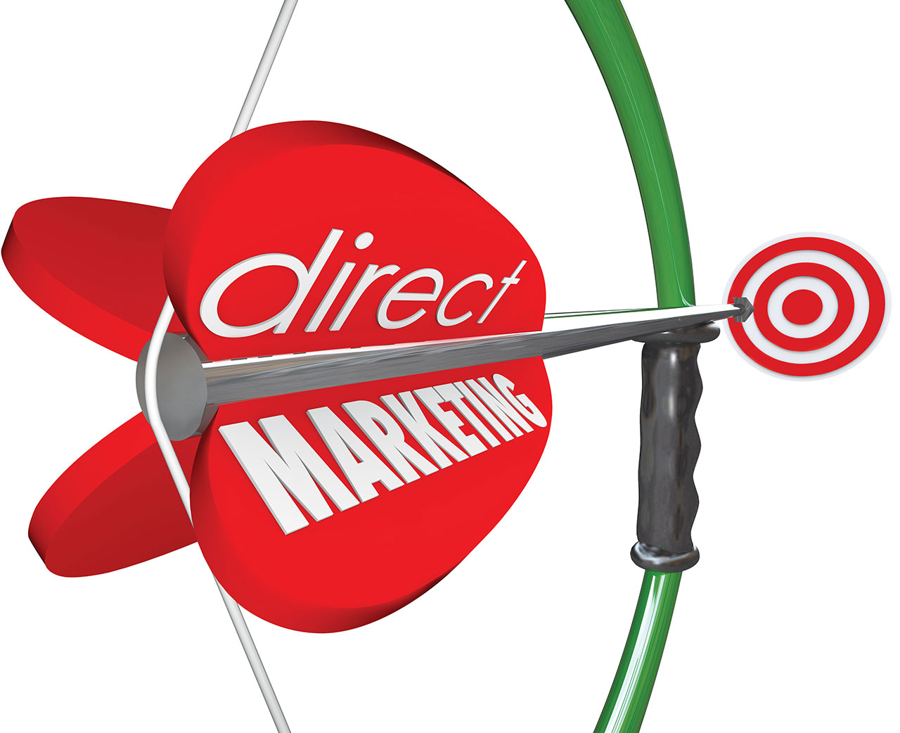 Direct Marketing Bow Arow Target New Customers Prospects
