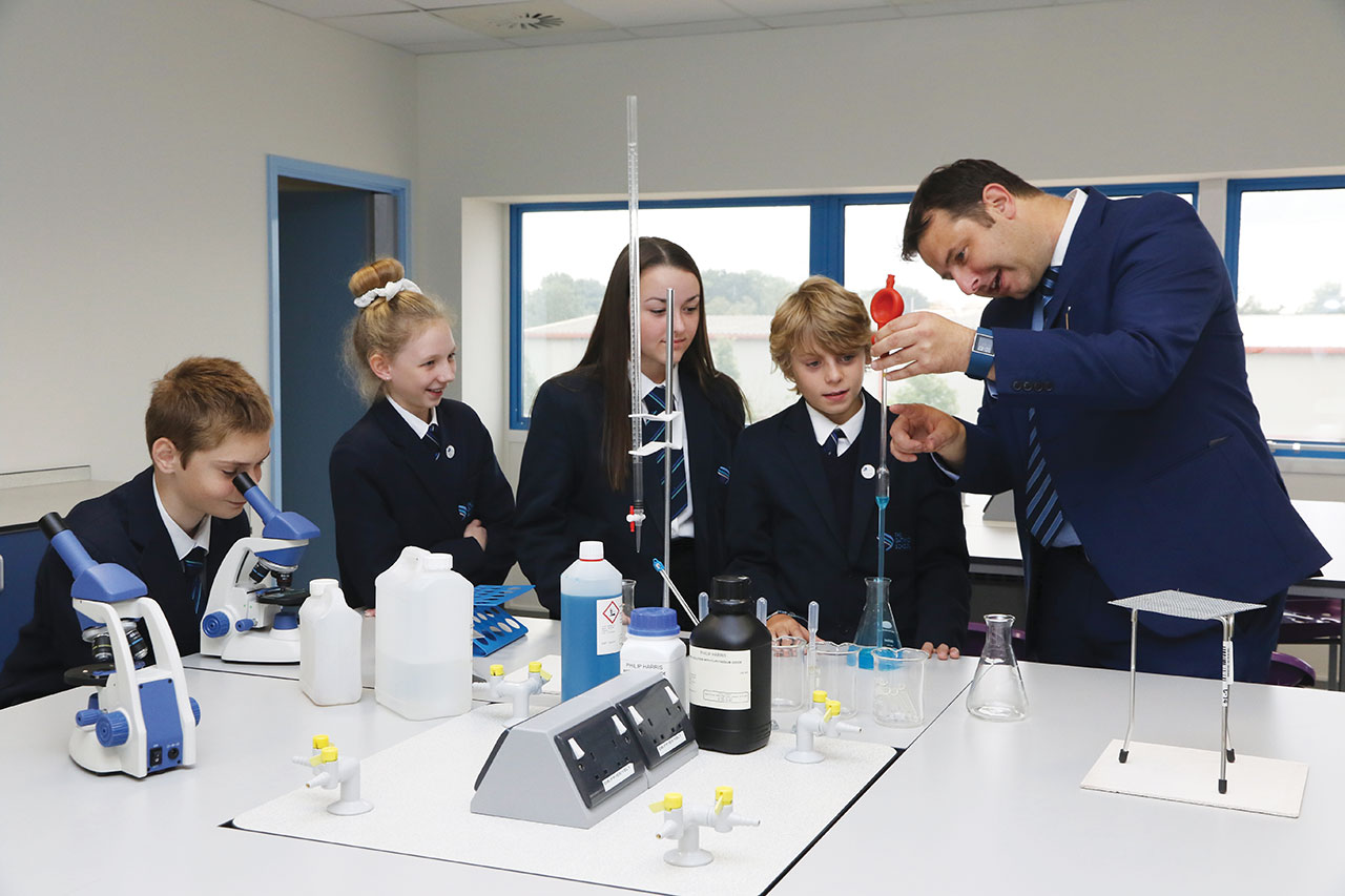 TGS Gatwick School Prospectus Science Lab