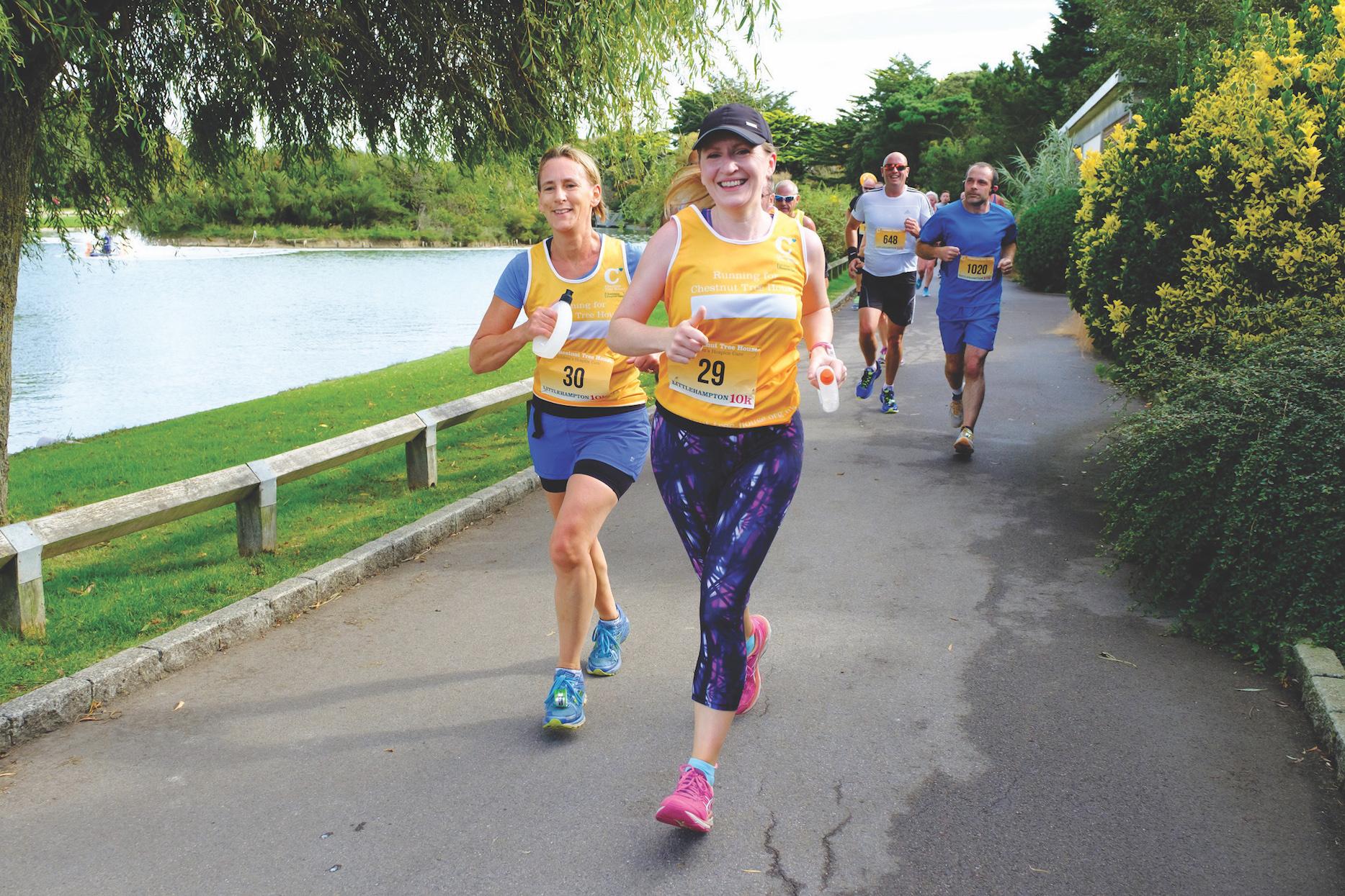 Chestnut Tree Littlehampton10k Runners MewsbrookPark