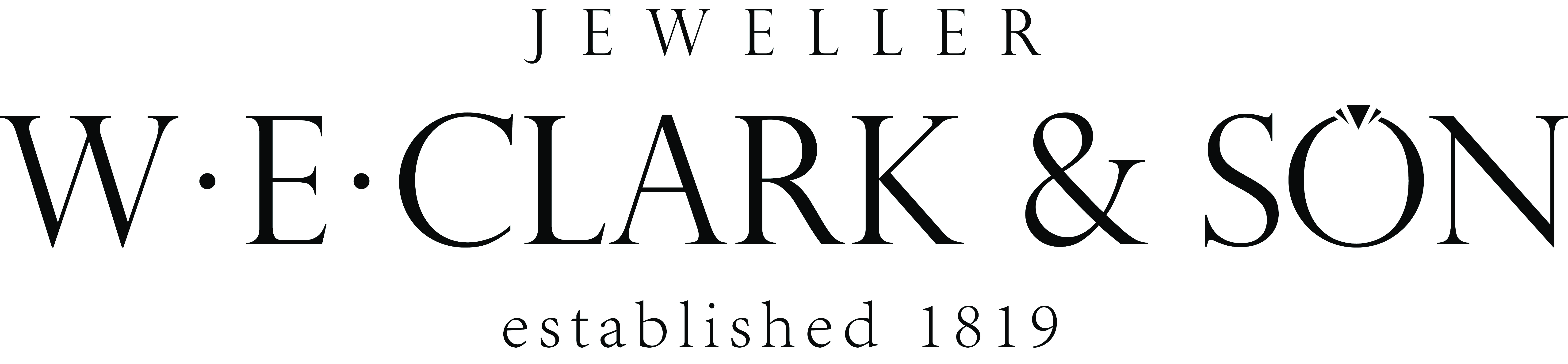 W E Clark and Son  Large Logo