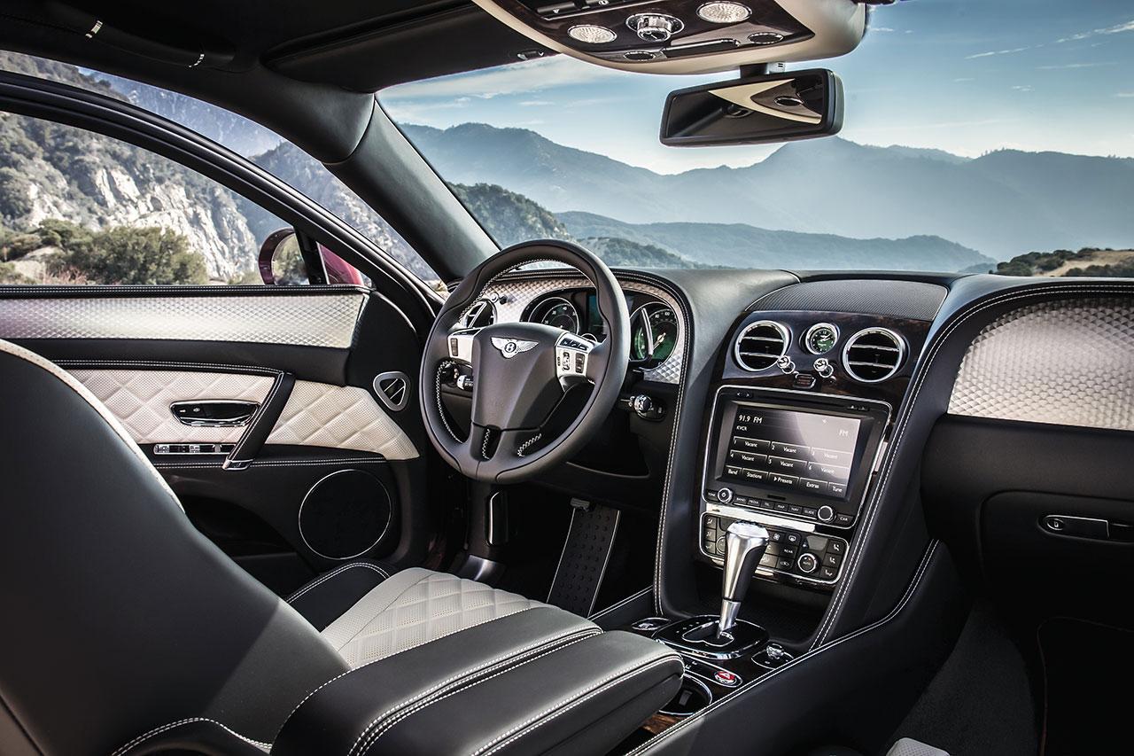 Bentley Flying Spur V8 S interior