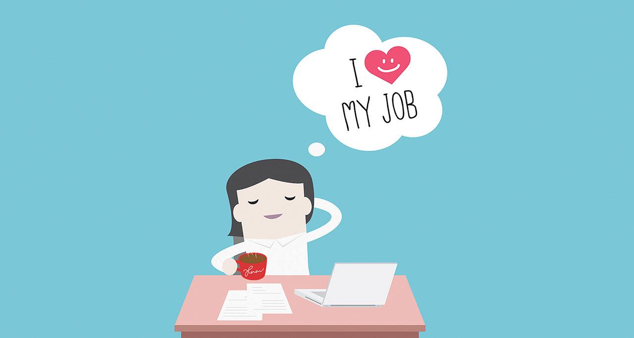 I Love My Job Heron Agency