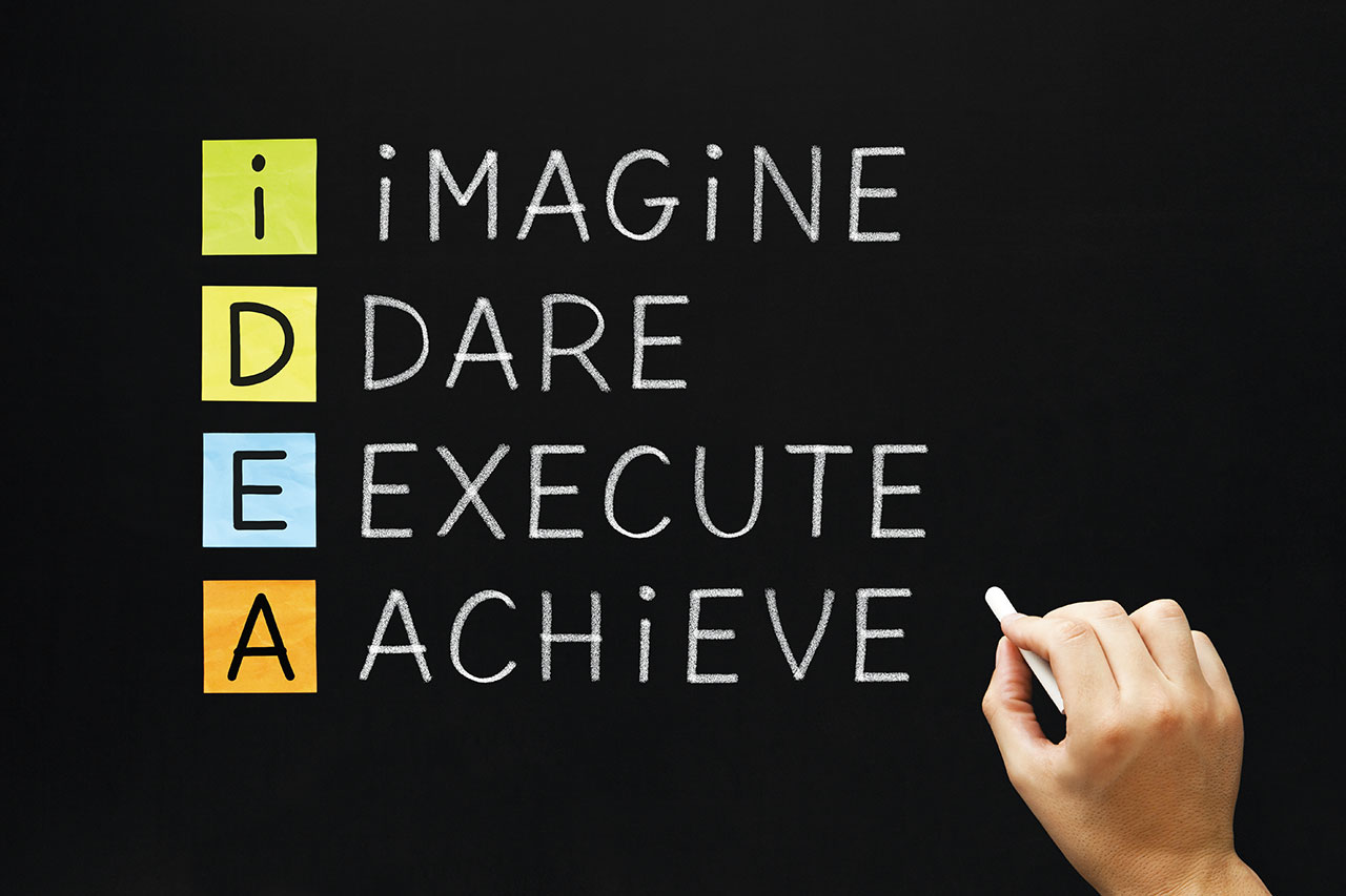 IDEA   Imagine Dare Execute Achieve