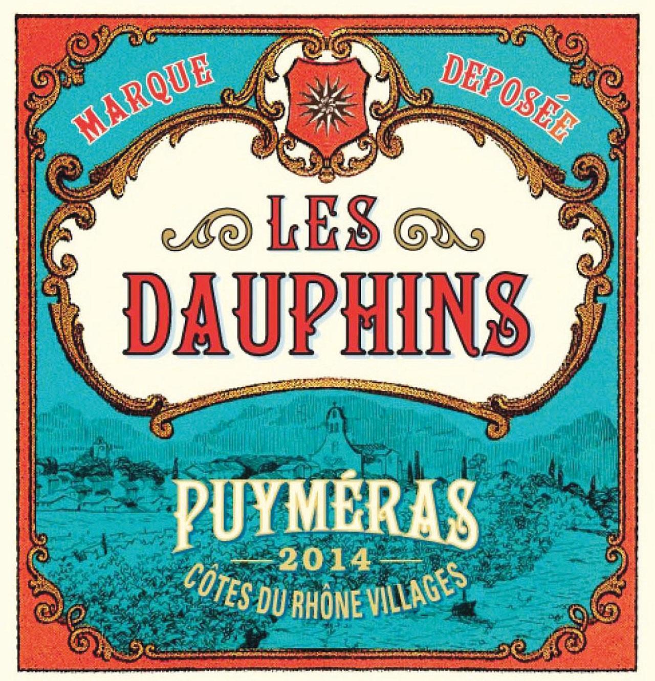 Les Dauphins, Côtes du Rhône, Villages NV