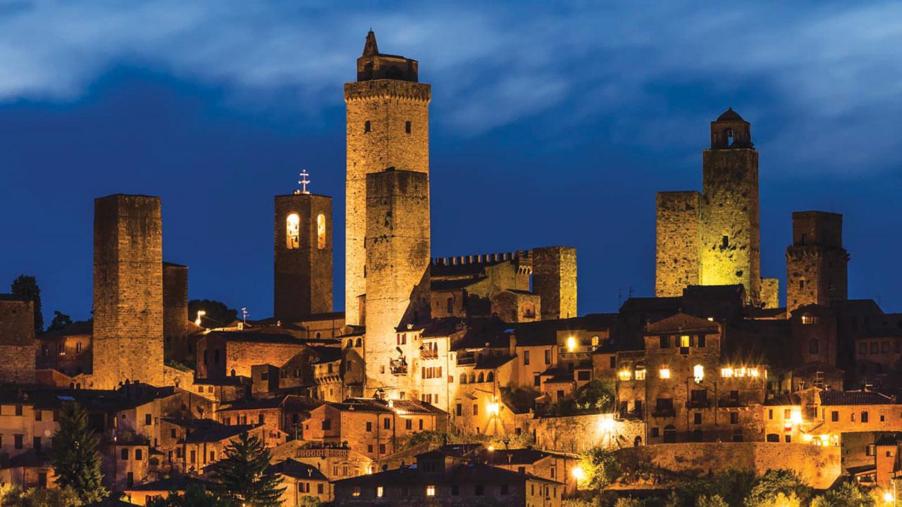 Tuscany at night
