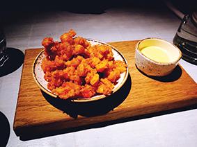 Crayfish popcorn