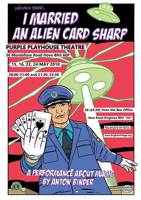 Brighton Fringe I married an alien