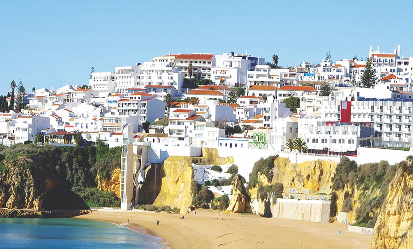 Faro  the capital of the Algarve region