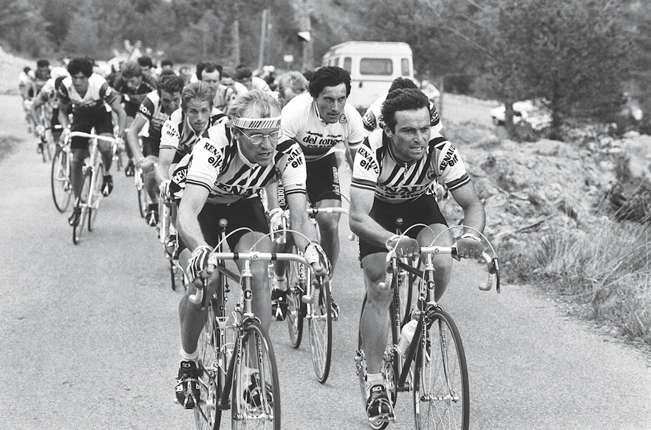 Mosley Bernard Hinault  right