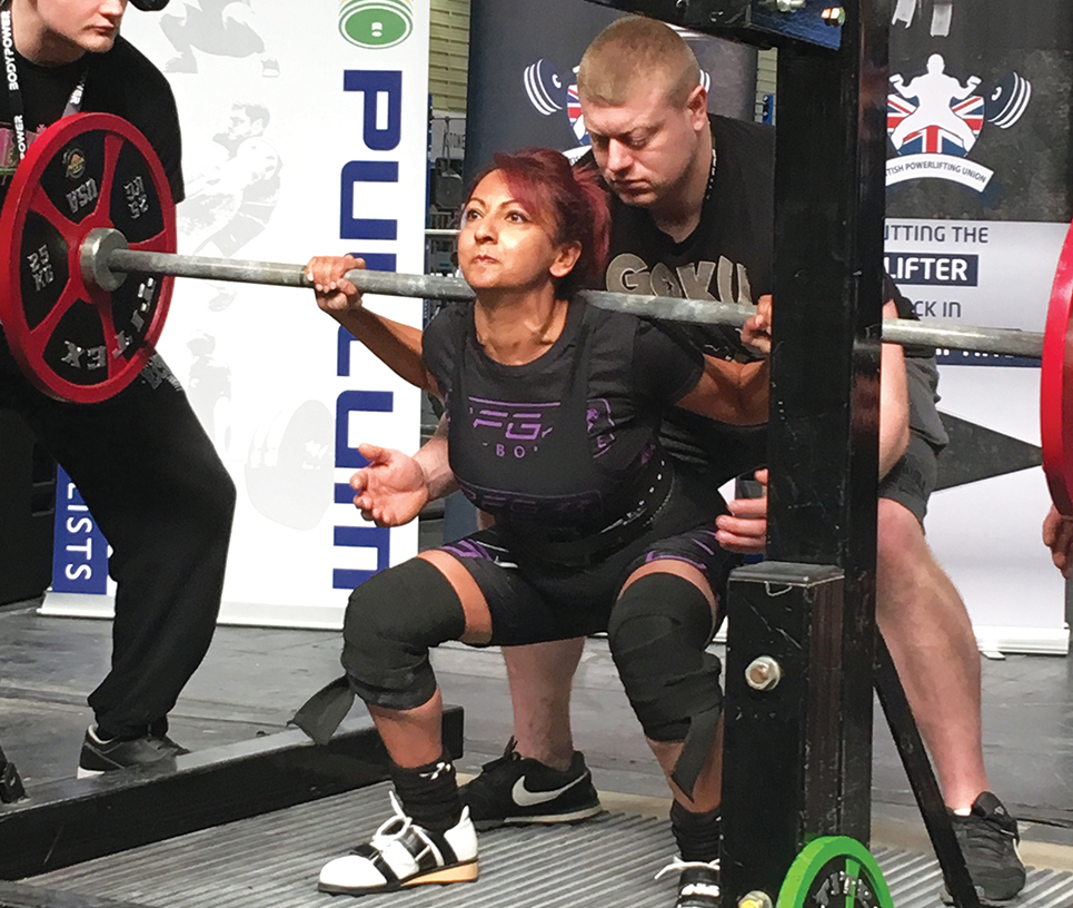 Aneela Rose British Finals Squat 14May2018
