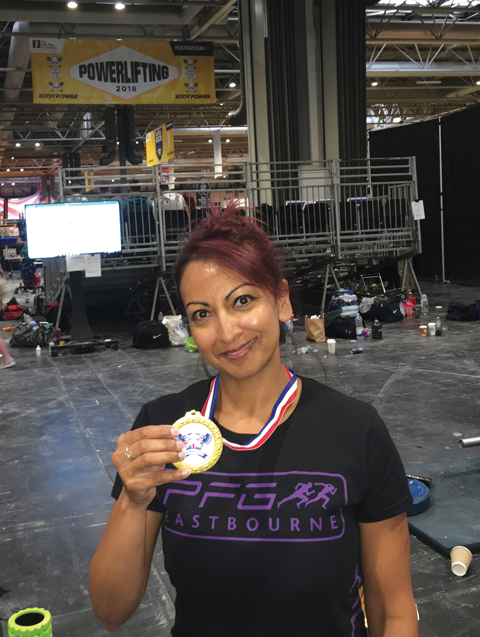 Aneela Rose Gold Medal 14May2018