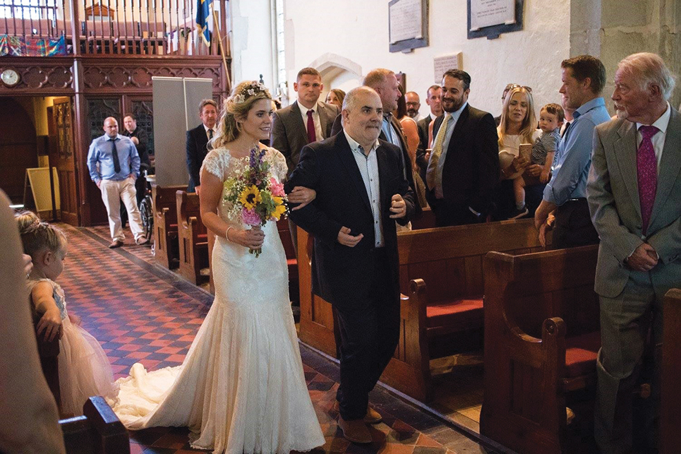 Headway A proud moment as Clifford walks his daughter down the aisle