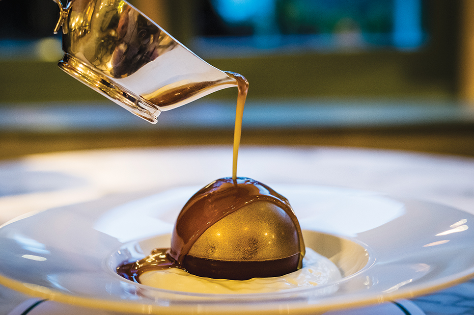 The Ivy Collection Chocolate Bombe