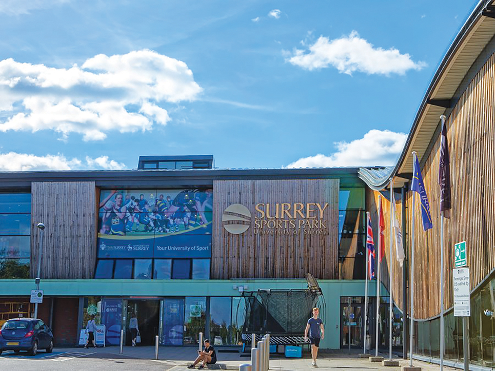 Surrey Sports Park front entrance 12 900x675
