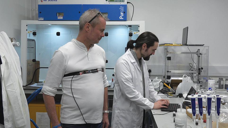 Sussex Innovation Centre John Lee and Matt Large from MPG