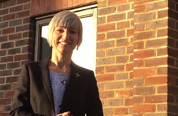 Kathryn outside informal web
