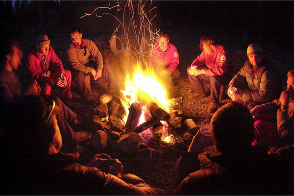 camp fire WEB