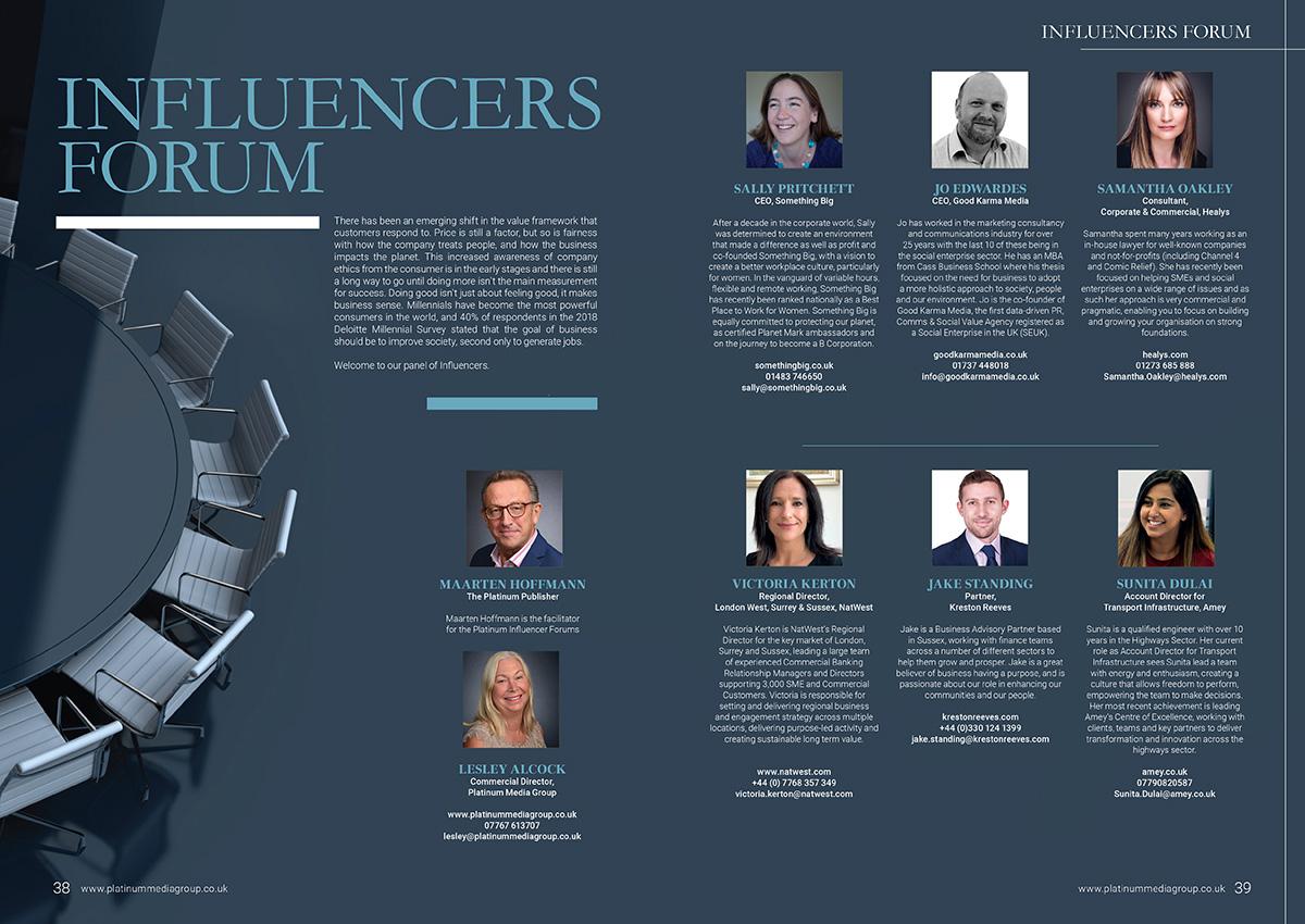 Influencers Forum