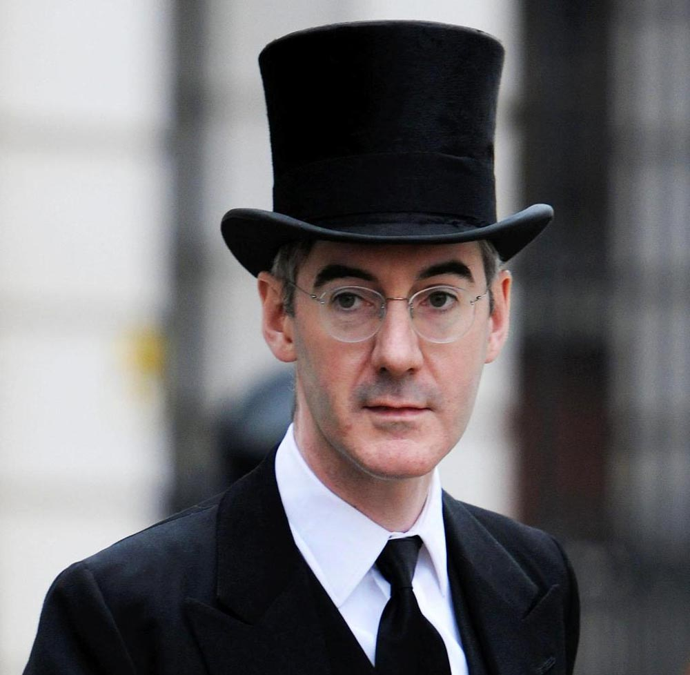 rees mogg topHat