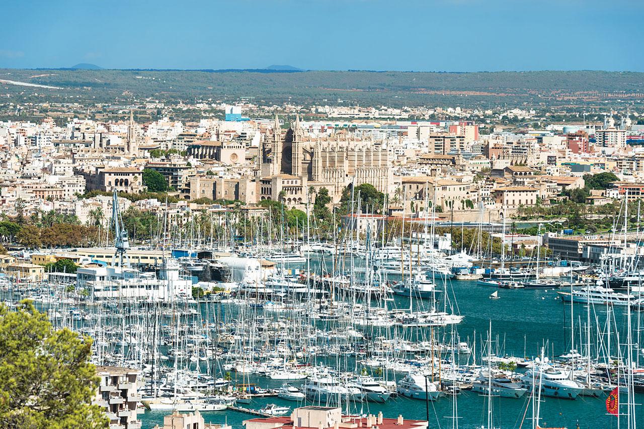 Palma de Mallorca puertp