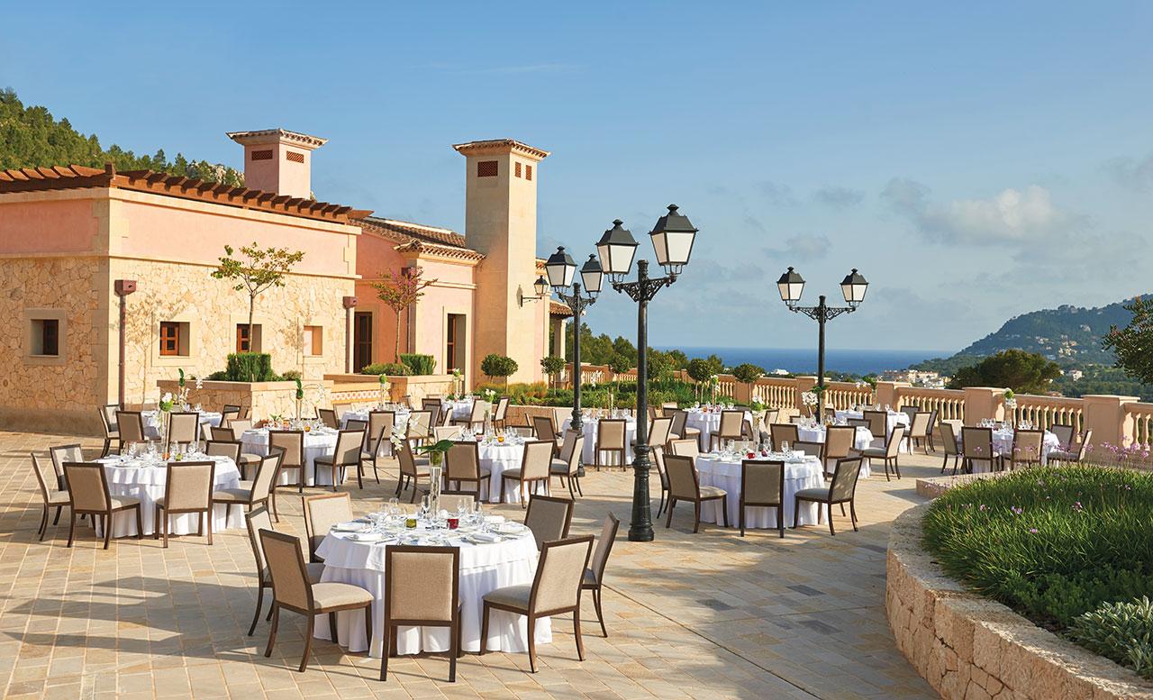 Park Hyatt Mallorca Ballroom Terrace Setup