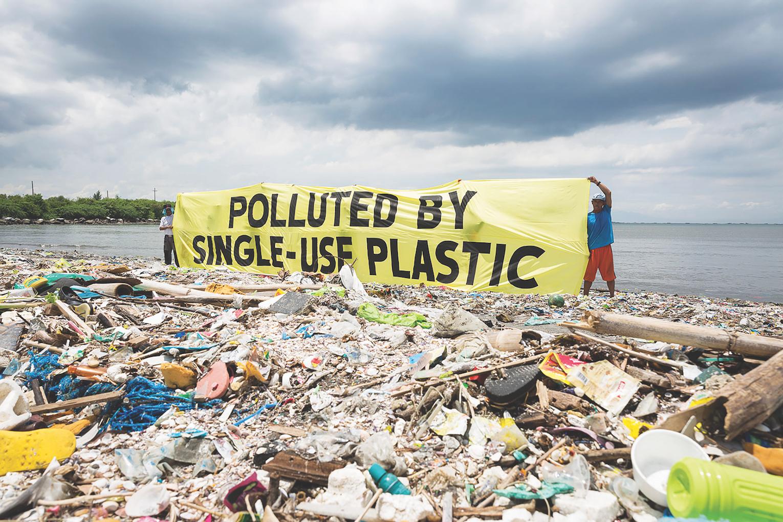 Plastic Trash Philippines