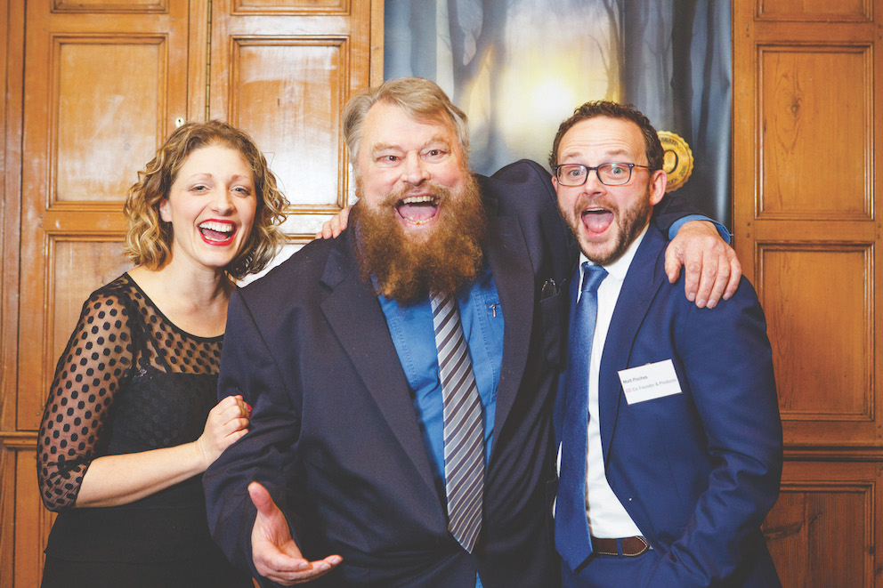 GSC Founders and Patron Brian Blessed at launch