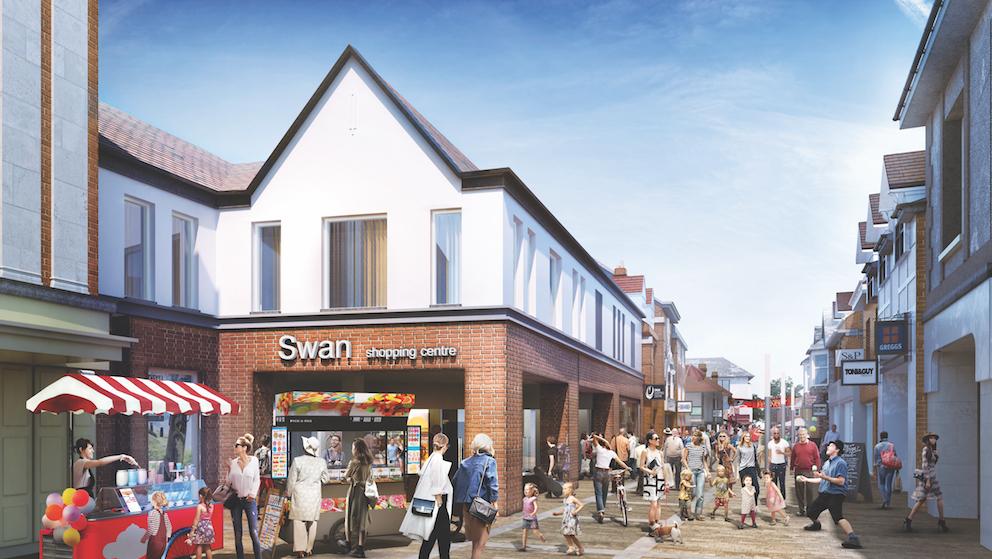 Leatherhead Swan Centre regeneration scheme
