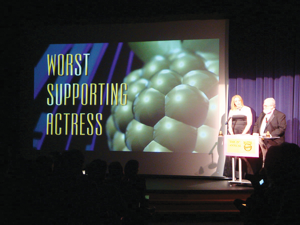 Farrow 1200px Worst Supporting Actress at 29th Razzie Awards