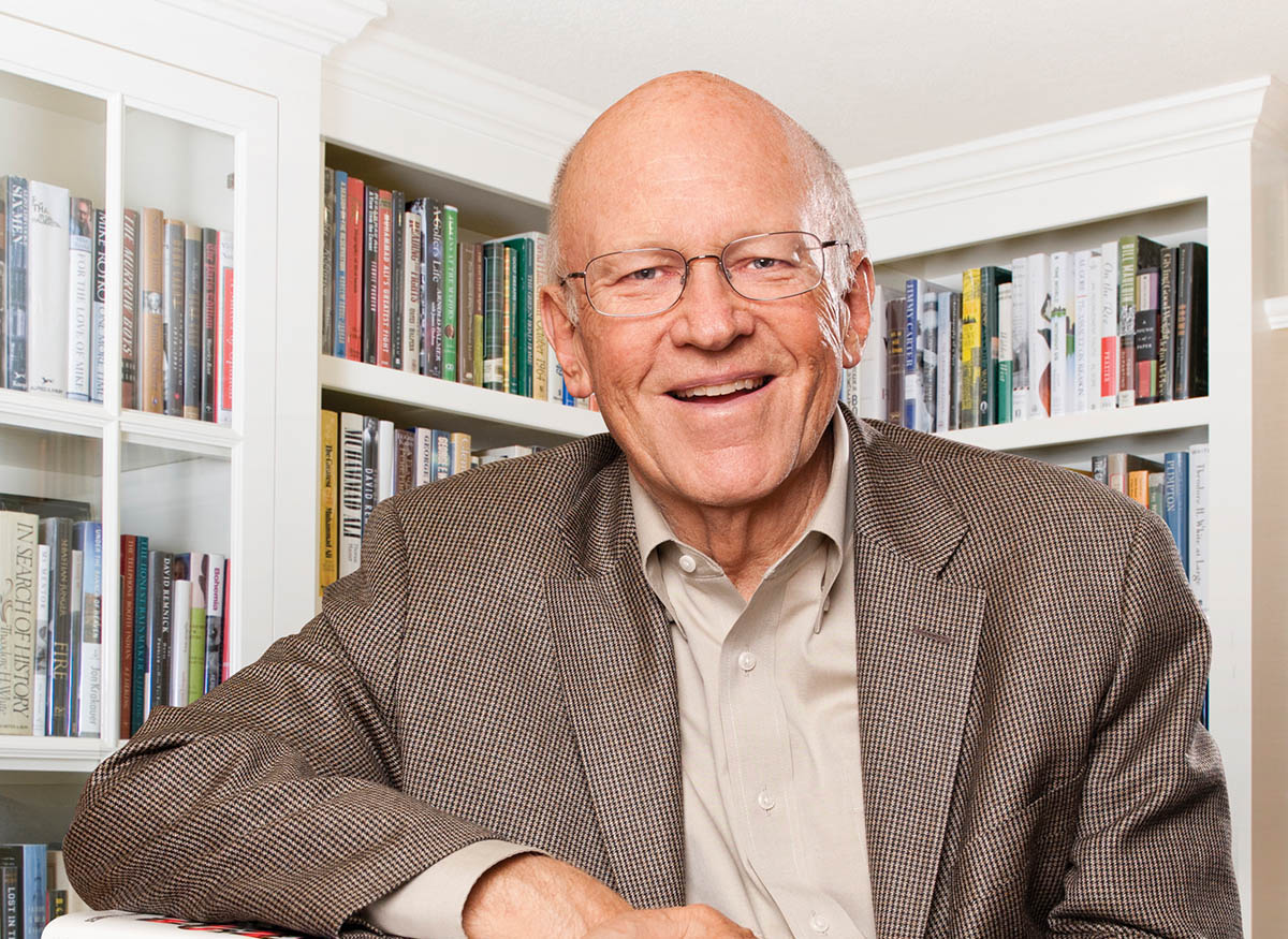 Ken Blanchard Library for inside magazine web3