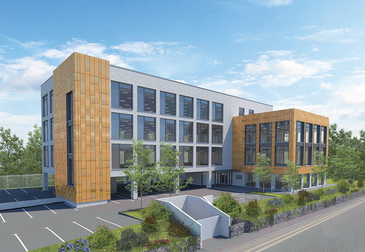 Adur District Council is creating a new private office development in Ham Road  Shoreham