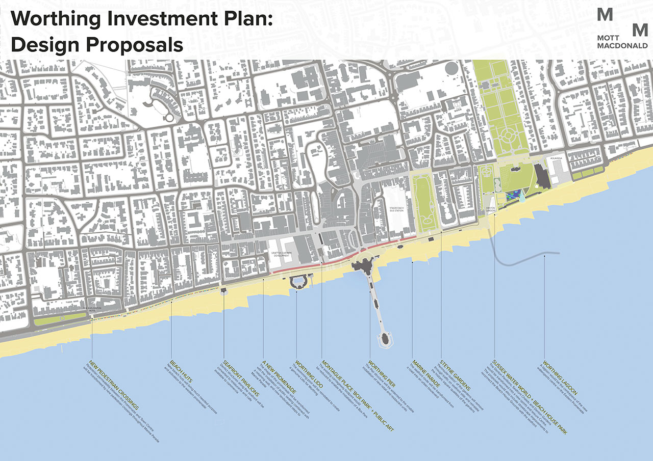 Worthing seafront strategy plans revealed Page 1