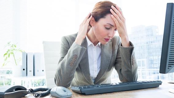 work desk job health